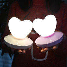 Load image into Gallery viewer, Pastel Hearts USB Night Light