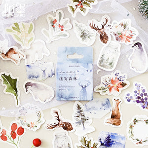 Forest Mist Sticker - 46pcs/box