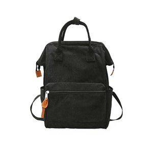 Corduroy Fashion Backpacks
