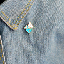 Load image into Gallery viewer, Iceberg Enamel Pin