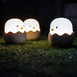 Eggshell Chicken Emotional Lights