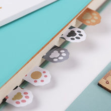 Load image into Gallery viewer, Mini Cat Paw Sticky Notes-3pcs -paperhouse