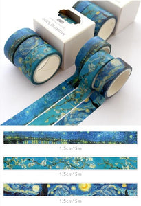 Ocean Washi Tape - 5m *3 pcs/lot
