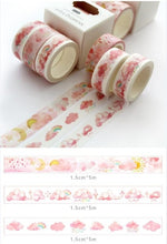 Load image into Gallery viewer, Ocean Washi Tape - 5m *3 pcs/lot