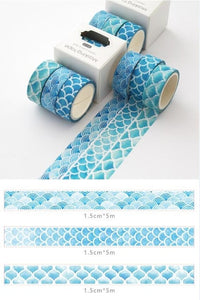 Whale Washi Tape - 5m *3 pcs/lot