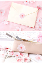 Load image into Gallery viewer, Cherry Pink Sakura Stickers-45 Pcs -paperhouse