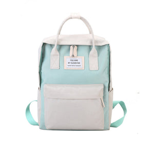 Candy Color Waterproof Backpack -6 Colors