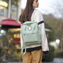 Load image into Gallery viewer, Kawaii Face Pastel Backpack