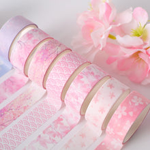 Load image into Gallery viewer, Flower Washi Tape - 6/12 pcs/lot