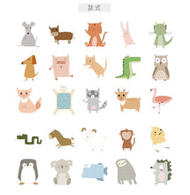 Load image into Gallery viewer, Japanese Cute Animal Sticker-50 Pcs -paperhouse