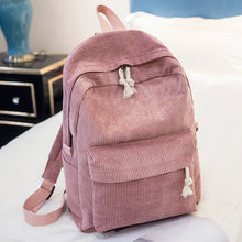 Load image into Gallery viewer, Corduroy Fashion Backpack -paperhouse
