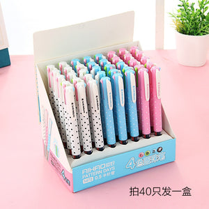 Kawaii Dot Pen-4 Ink in 1 -paperhouse