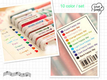 Load image into Gallery viewer, Colorful Gel Pen Set-10 Pcs -paperhouse