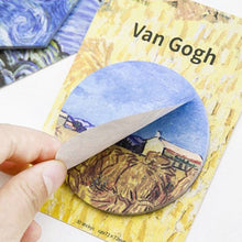 Load image into Gallery viewer, Van Gogh Sticky Notes - 4pcs