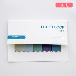 Rainbow Memo Sticky Notes-8pcs -paperhouse