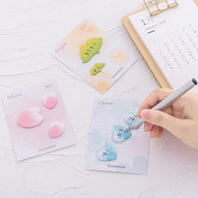 Load image into Gallery viewer, Sakura Petal Self-Adhesive Memo Pad Sticky Notes - 4 Pcs