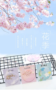 Sakura Petals Sticky Notes-4pcs -paperhouse