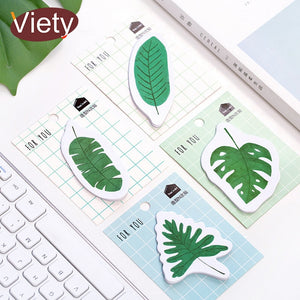 'For You' Forest Leaves Sticky Notes - 4pcs -paperhouse