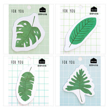 Load image into Gallery viewer, 'For You' Forest Leaves Sticky Notes - 4pcs -paperhouse