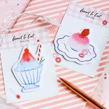 Load image into Gallery viewer, Pastel Desserts Sticky Notes - 30pcs -paperhouse