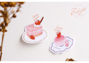 Pastel Desserts Sticky Notes - 30pcs -paperhouse