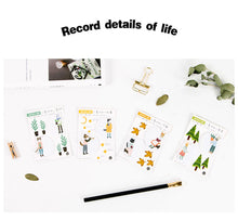 Load image into Gallery viewer, Four Seasons Friends Sticky Notes - 4pcs -paperhouse