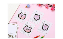 Load image into Gallery viewer, Sakura Piggy Sticky Notes - 4pcs -paperhouse