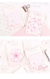 Sakura Blossom Sticky Notes - 6pcs -paperhouse