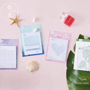 Aesthetic Dreams Sticky Notes - 4pcs -paperhouse