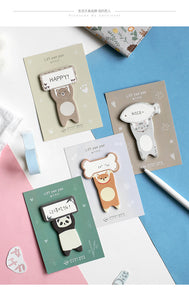 Raise a Paw Sticky Notes - 4pcs -paperhouse