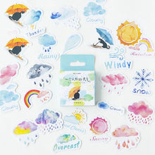 Load image into Gallery viewer, Good And Bad Weather Feeling Sticker-46 Pcs -paperhouse