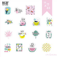Load image into Gallery viewer, Rain Forest Plant Stickers-11 Pcs -paperhouse