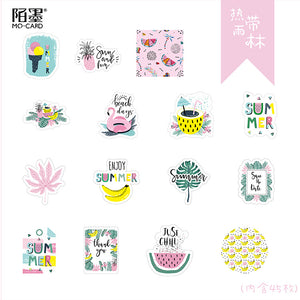 Rain Forest Plant Stickers-11 Pcs -paperhouse