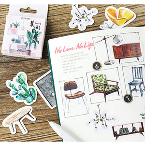 Happy Daily Sticker-45 pcs -paperhouse
