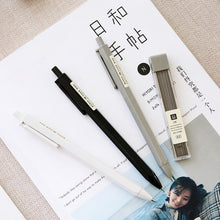 Load image into Gallery viewer, MUJI Style Mechanical  Pencils - 2 Pens + 4 Leads