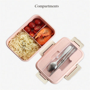 Japanese Bento Pastel Lunch Box