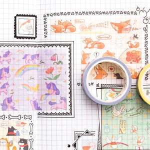 Animal Pendant Series Washi Tape 15mm *5m