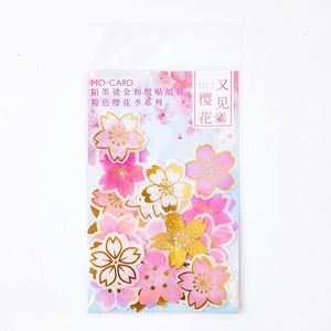 Sakura Season Series Stickers - 45/60 Pcs