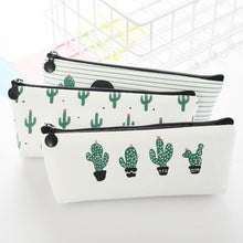 Load image into Gallery viewer, Happy Cactus Pencil Cases
