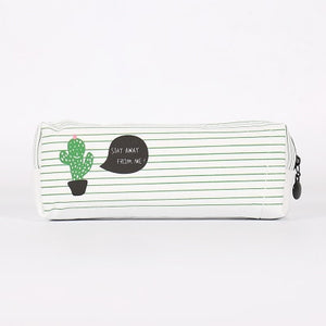 Happy Cactus Pencil Cases