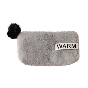 Cute Women Plush Pencil Case