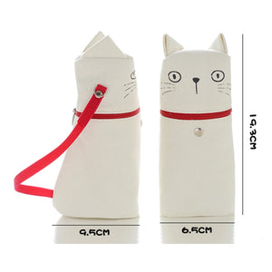 Kitty Emotions Standing Pencil Case