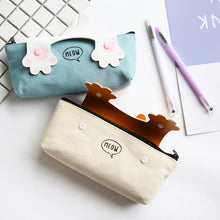 Load image into Gallery viewer, Cartoon Cats Paw Pencil Case