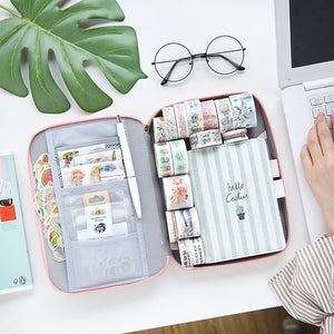 🥇Creative Large Capacity Multifunction Pencil Case
