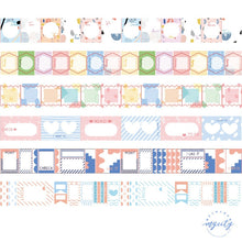 Load image into Gallery viewer, Japanese Handbook Decorative Washi Tape