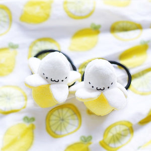 Super Cute Yellow Banana Plush Toys - 2 Pcs