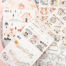 Load image into Gallery viewer, Cute Institute Series Stickers - 30 Pcs