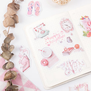 Micro Sweet Memories Series Stickers - 200 Pcs