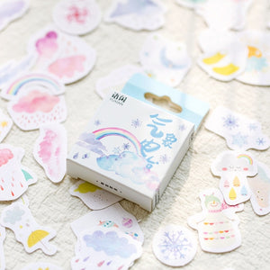 Japanese Cute Stickers - 50 Pcs