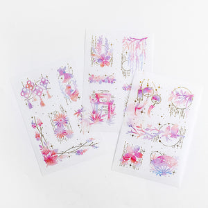 Dream Star Series Stickers - 3pcs
